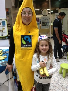 Going bananas at the Merrion Centre