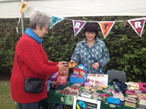 Ruth's stall in Calverley